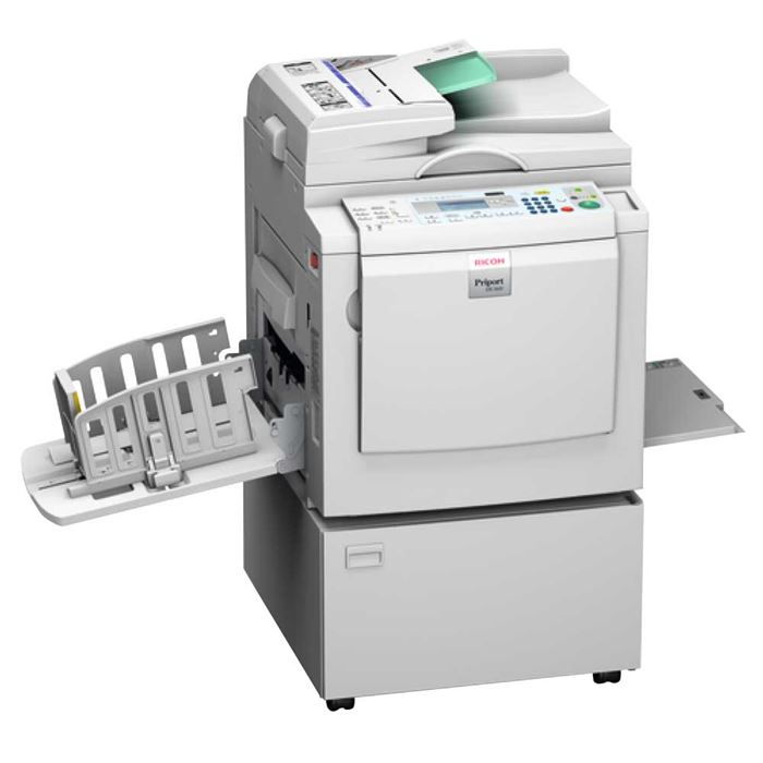 The Ricoh digital duplicators range
