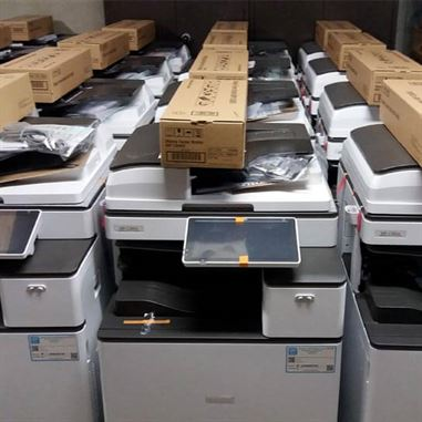 Copiers, printers in short term rental