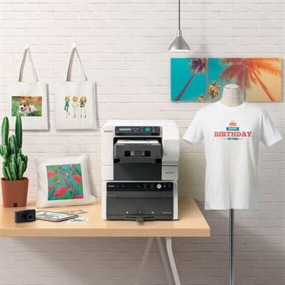 Ricoh direct to garment printers range